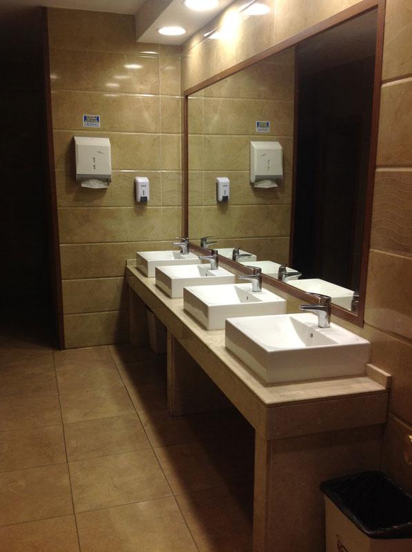 Baños del restaurante