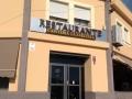 Fachada de nuestro restaurante en Lagartera, Toledo.