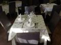 Mesa de nuestro restaurante.