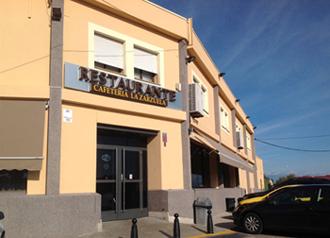 Fachada Restaurante La Zarzuela