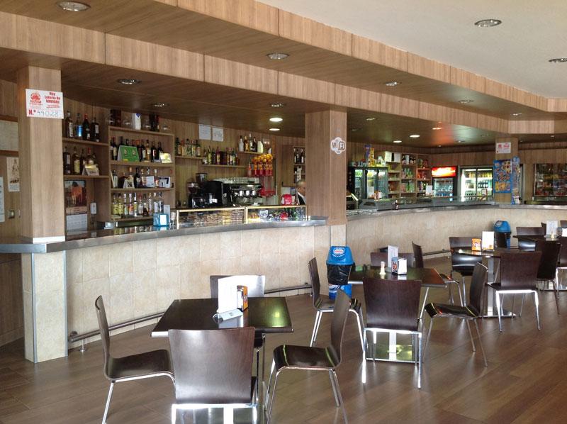 Foto de la cafetería de nuestro restaurante en Lagartera, Toledo.
