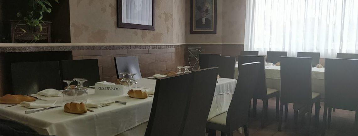 menú gastronómico en restaurante la zarzuela